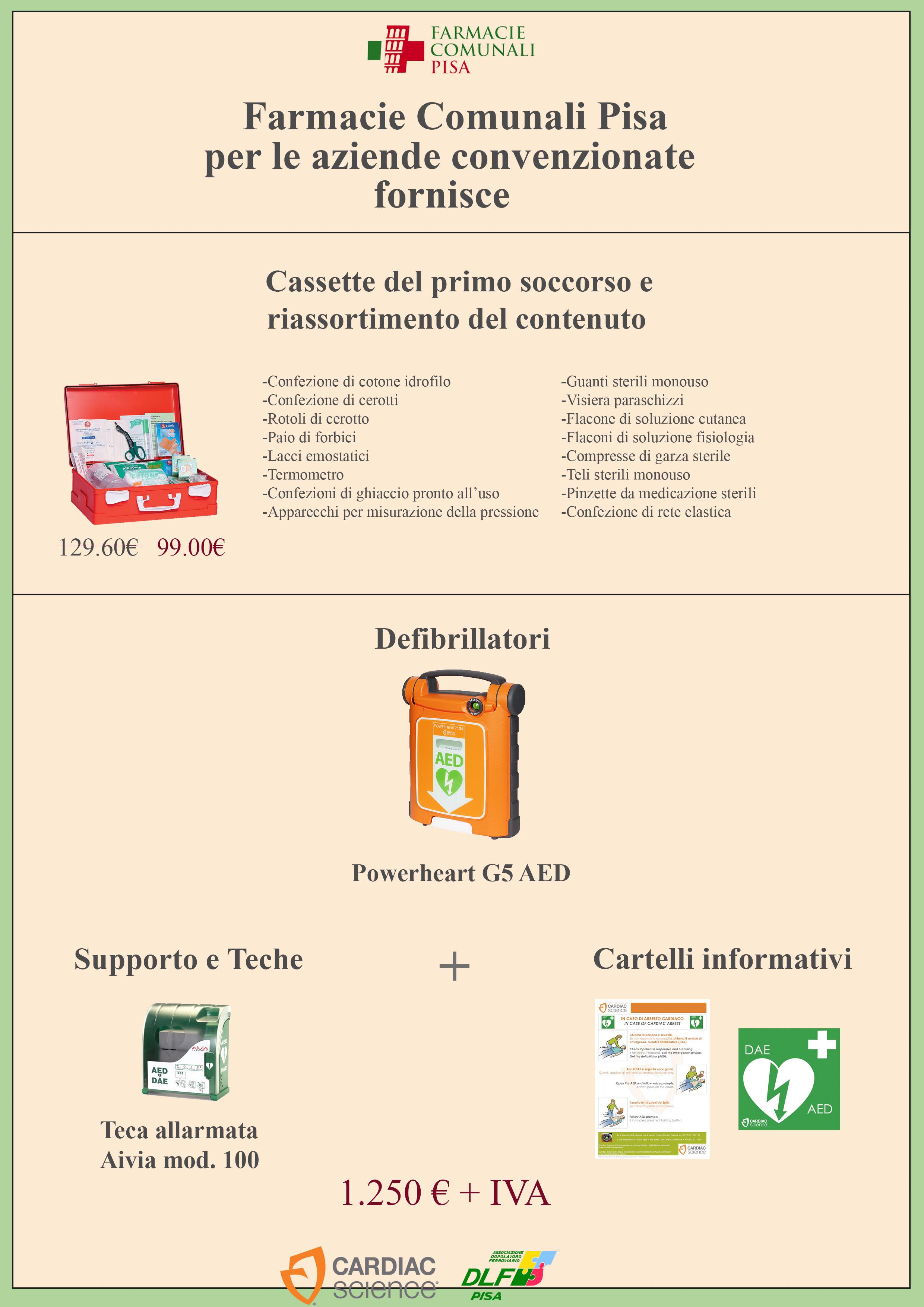 Convenzioni con le farmacie comunali
